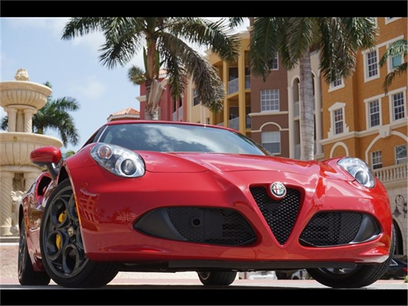 2015 Alfa Romeo 4C Coupe for sale in for sale on GoCars
