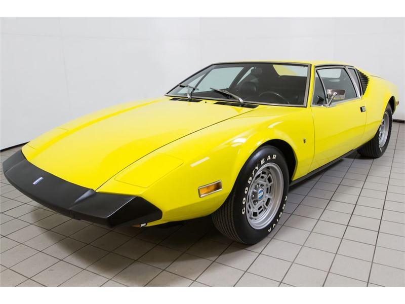 Pantera For Sale >> 1974 De Tomaso Pantera For Sale Gc 35895 Gocars