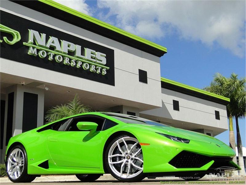 2015 Lamborghini Huracan for sale in Naples, Florida 34104