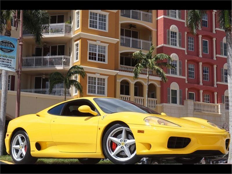 2000 Ferrari 360 Modena Coupe For Sale On Gocars