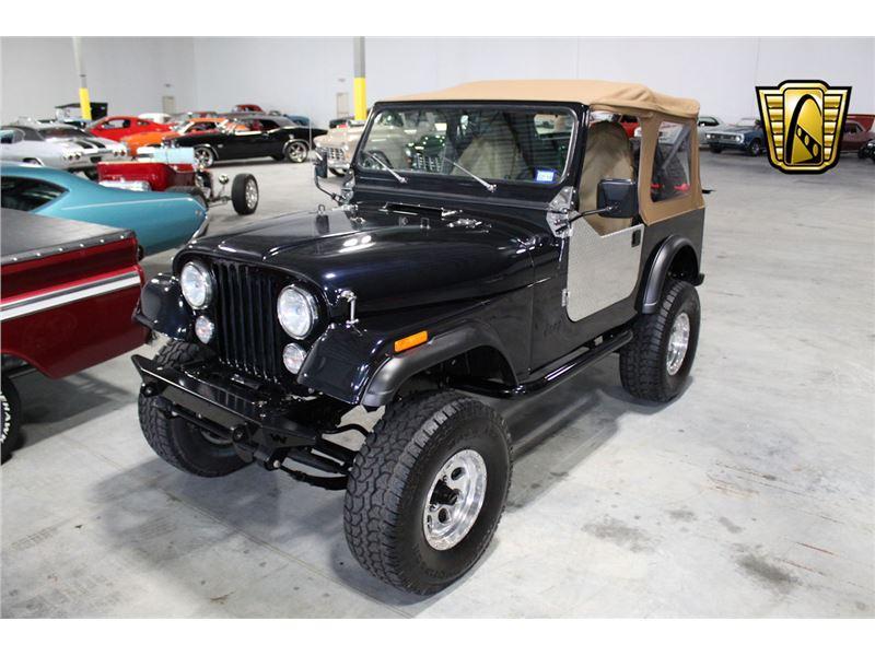 Cj7 Jeep For Sale >> 1982 Jeep Cj7 For Sale On Gocars