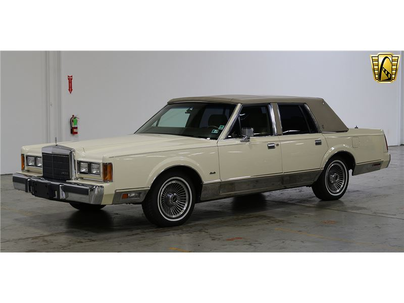 1989 Lincoln Town Car For Sale Gc 38176 Gocars