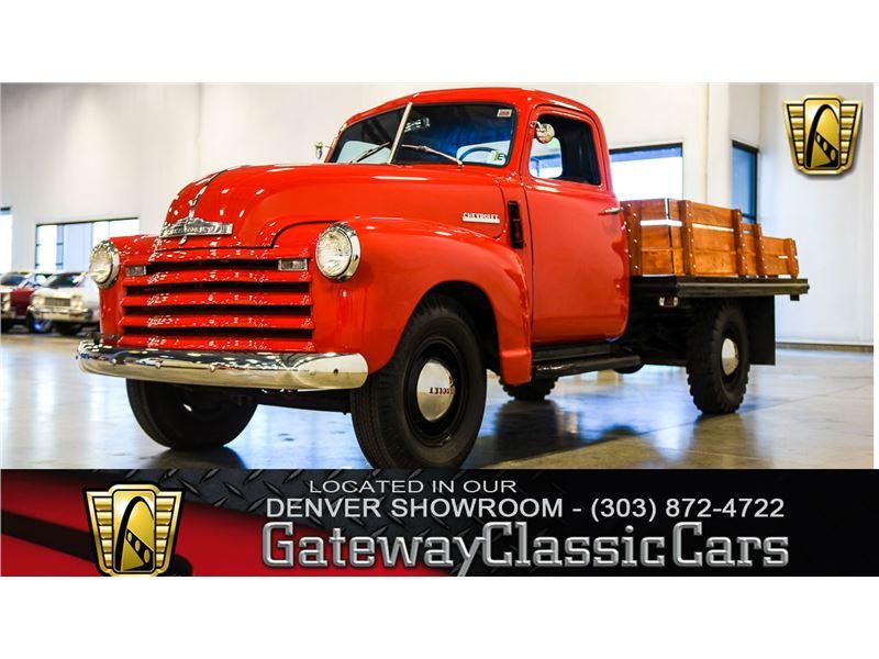 1947 Chevrolet 3600 For Sale On Gocars