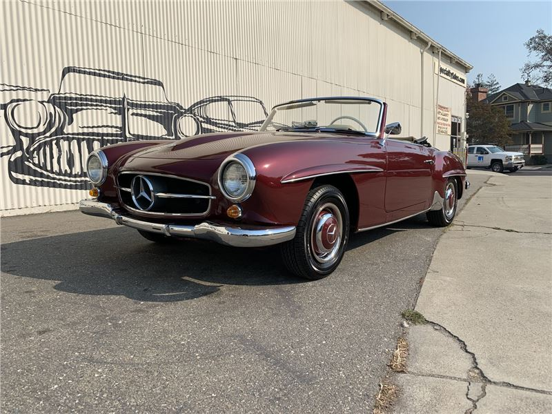 1962 Mercedes-Benz 190SL for sale in Pleasanton, California 94566