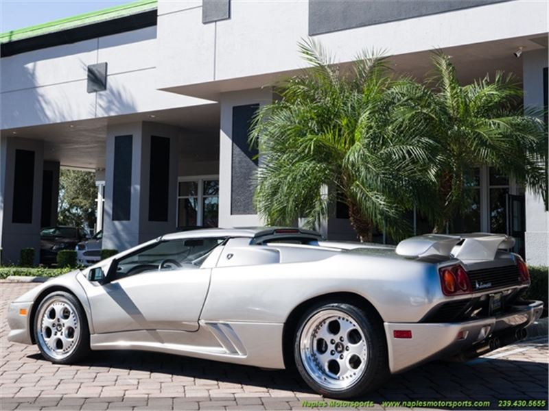 1999 Lamborghini Diablo Vt Roadster For Sale Gc 38612 Gocars