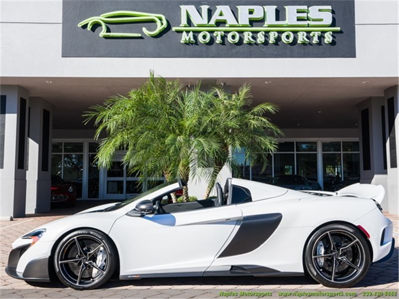 2016 McLaren 675LT Spider for sale in for sale on GoCars