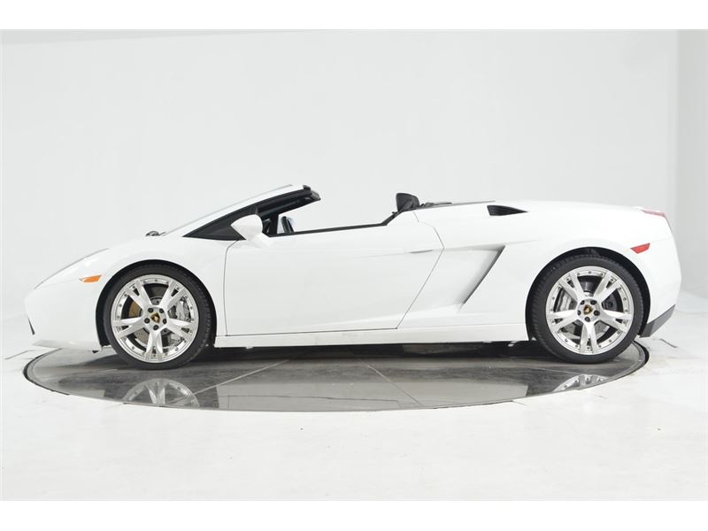 2008 Lamborghini Gallardo Spyder For Sale Gc 38923 Gocars