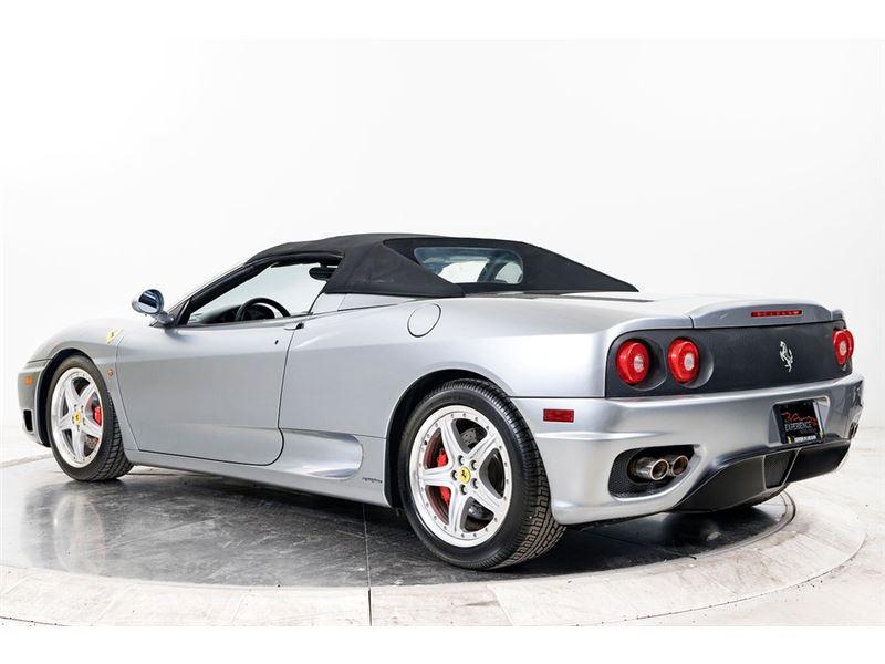 2003 Ferrari 360 Spider 6x For Sale On Gocars