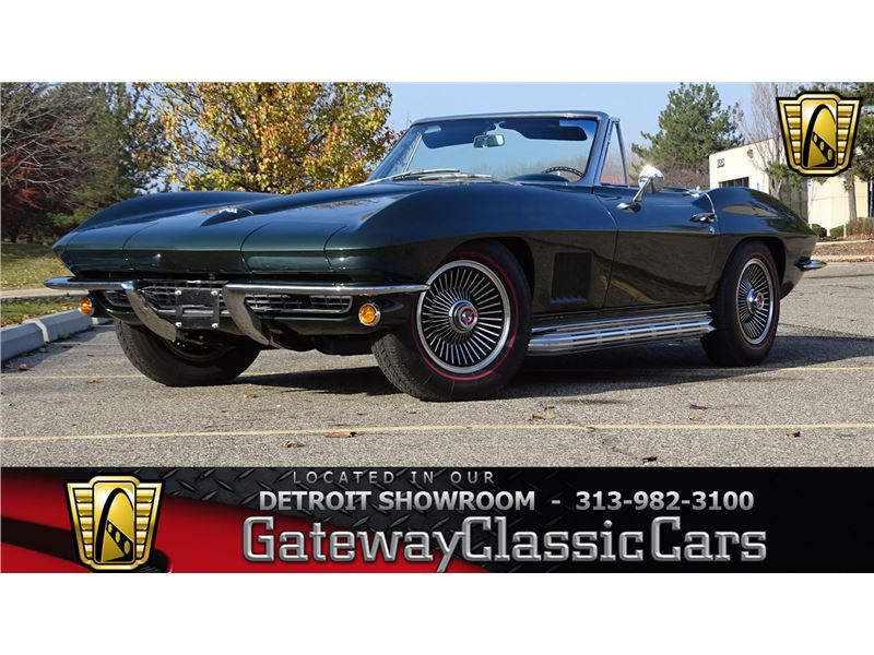 Used Corvettes For Sale In Michigan >> 1967 Chevrolet Corvette For Sale On Gocars