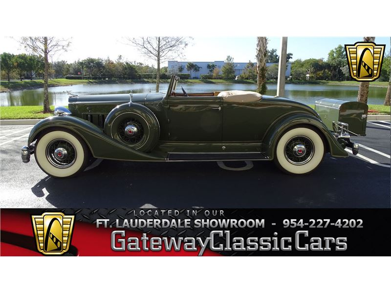 1934 Packard Super Eight for sale in Coral Springs, Florida 33065