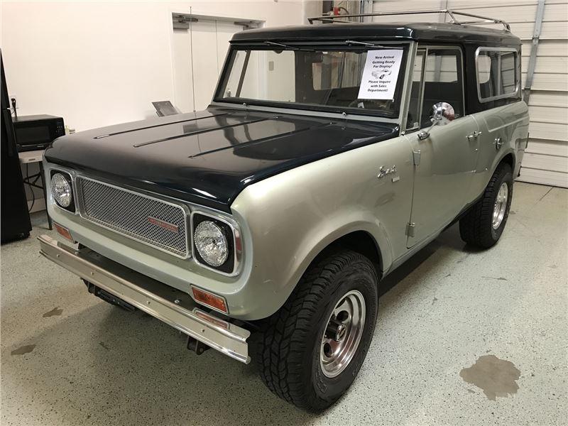 Ih Scout For Sale - Detroit Auto Show