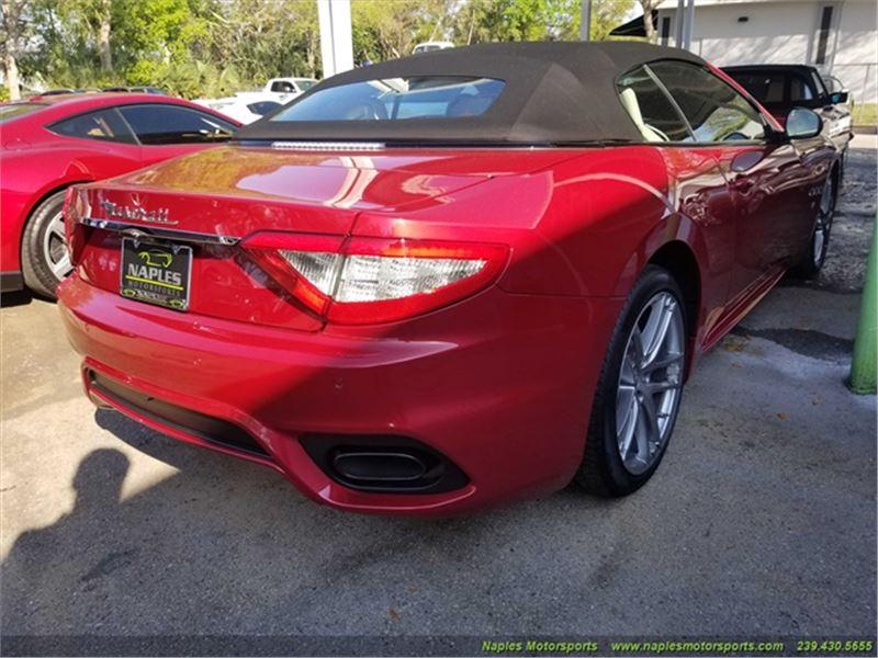 2018 Maserati Gran Turismo Sport Convertible for sale in for sale on GoCars