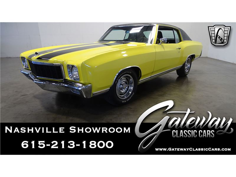 1971 Chevrolet Monte Carlo For Sale Gc 40649 Gocars
