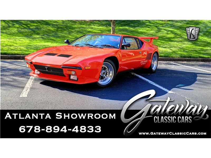Ford Pantera For Sale >> 1986 De Tomaso Pantera For Sale Gc 40735 Gocars