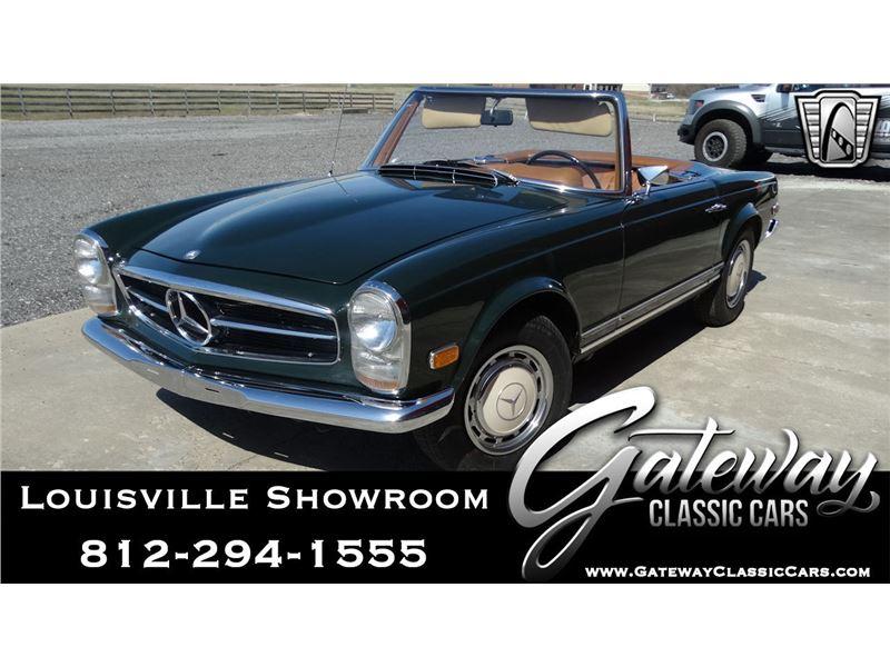1969 Mercedes Benz 280sl For Sale On Gocars