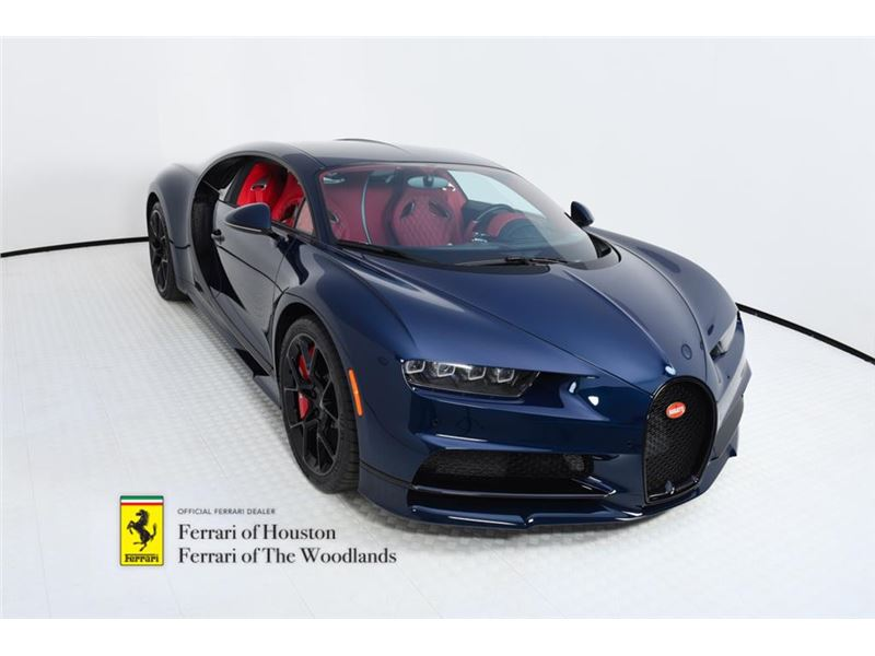 2018 Bugatti Chiron for sale in Houston, Texas 77057