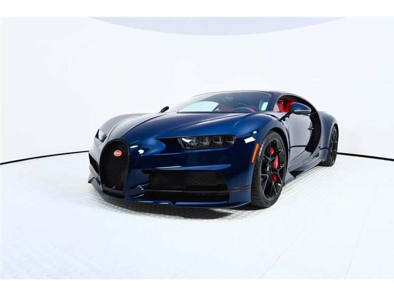 2018 Bugatti Chiron for sale in for sale on GoCars