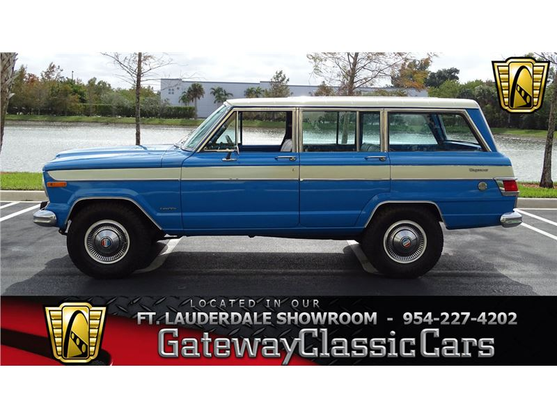 Jeep Wagoneer For Sale >> 1977 Jeep Wagoneer For Sale Gc 41056 Gocars