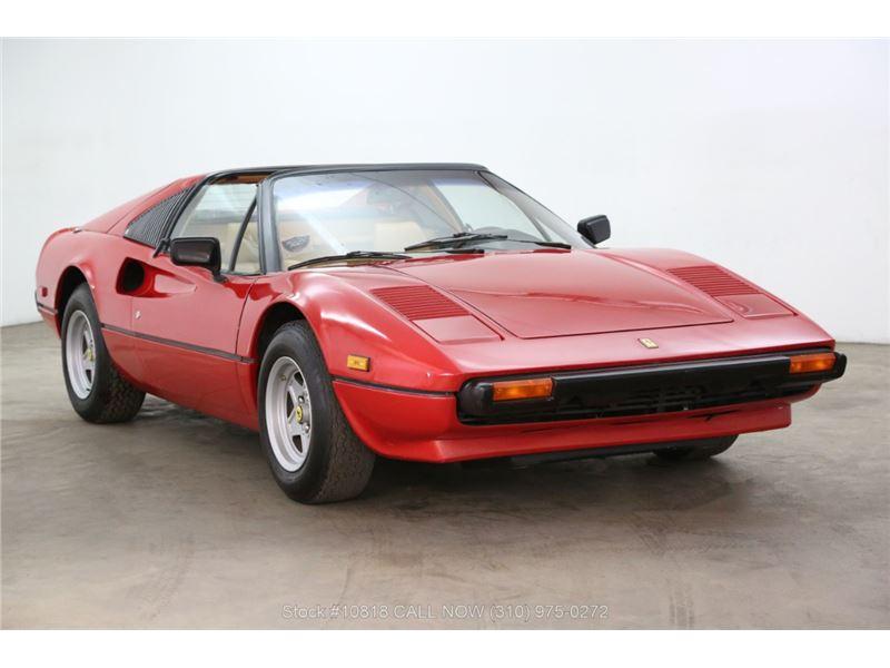 Ferrari 308 Gts For Sale >> 1980 Ferrari 308 Gts For Sale On Gocars