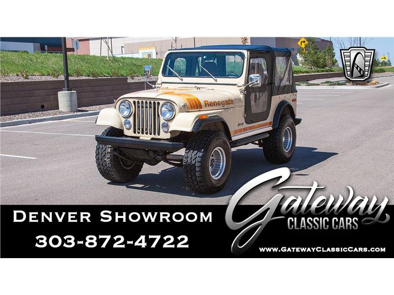 Cj7 Jeep For Sale >> 1979 Jeep Cj7 For Sale Gc 41452 Gocars