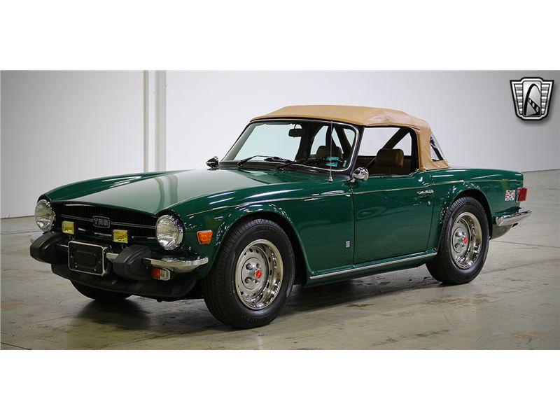 1975 Triumph TR6 for sale on GoCars