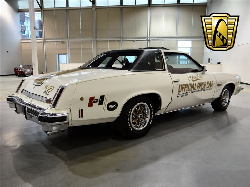 1974 oldsmobile cutless salon w30 pace car for sale gc for 1974 cutlass salon