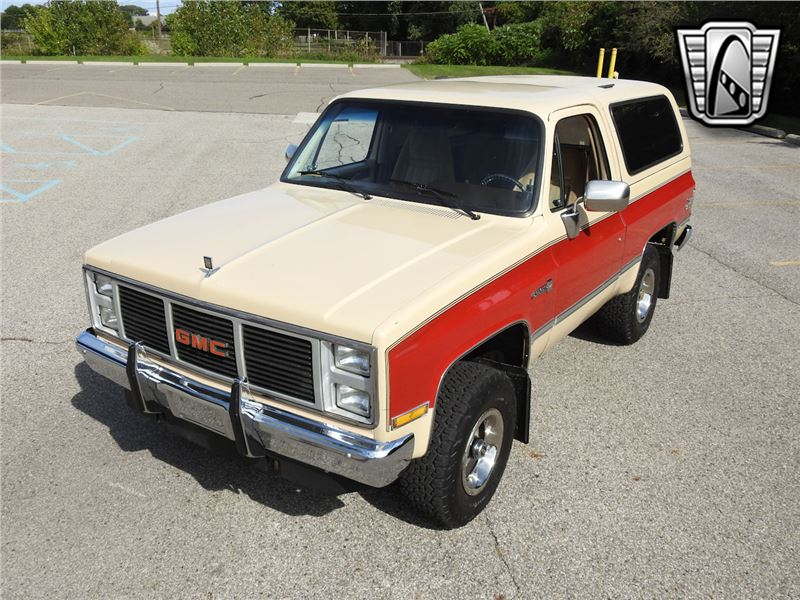 1987 gmc jimmy for sale gc 44619 gocars gocars