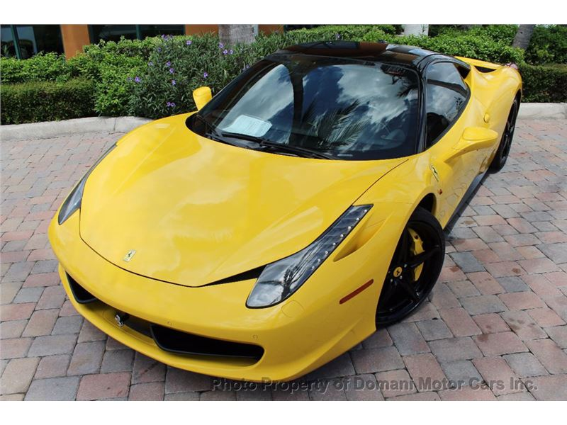 2012 Ferrari 458 Italia for sale in for sale on GoCars