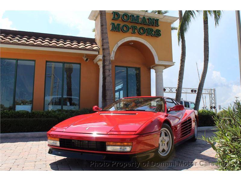 1989 Ferrari Testarossa for sale in for sale on GoCars