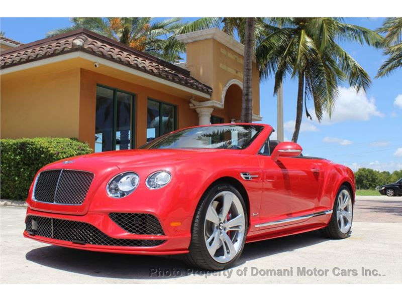 2016 Bentley Continental GT for sale in Deerfield Beach, Florida 33441