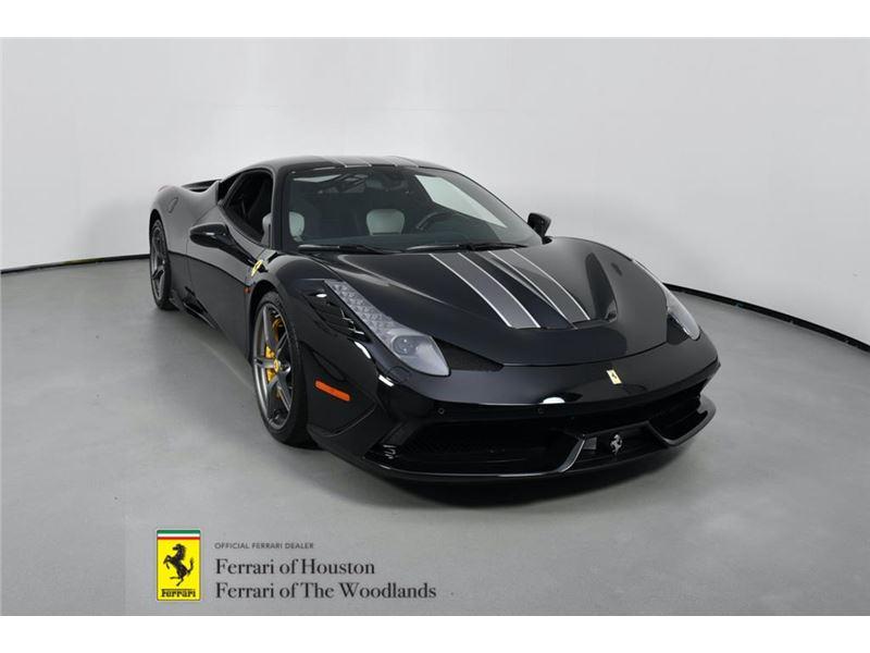 2015 Ferrari 458 Speciale for sale in Houston, Texas 77057
