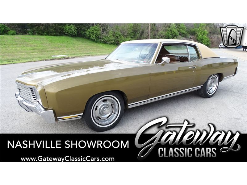 1972 Chevrolet Monte Carlo For Sale Gc 48661 Gocars