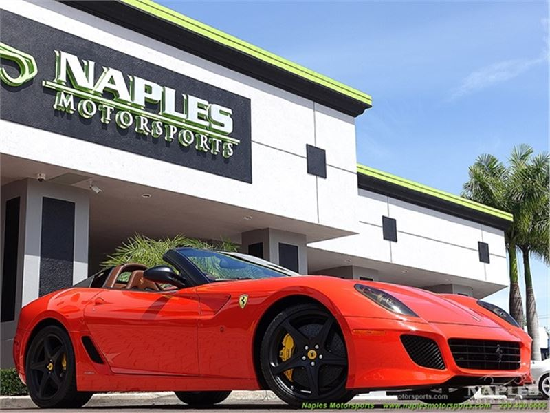 2011 Ferrari 599 for sale in Naples, Florida 34104