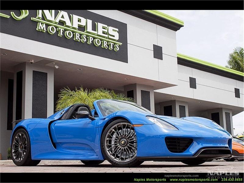 2015 Porsche 918 Spyder for sale in Naples, Florida 34104