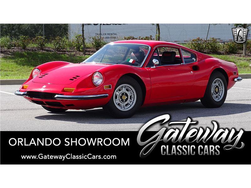 1972 Ferrari Dino 246 for sale in Lake Mary, Florida 32746