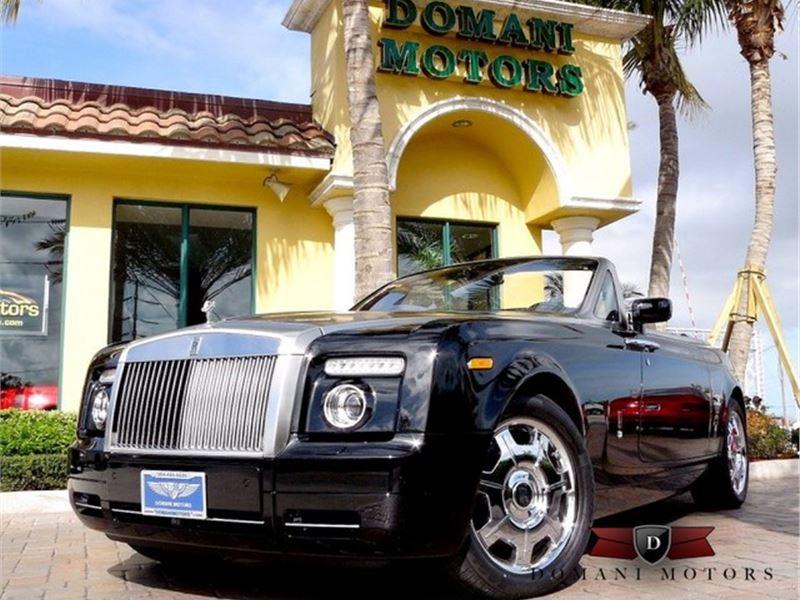 2009 Rolls-Royce Phantom Drophead Coupe for sale in Deerfield Beach, Florida 33441