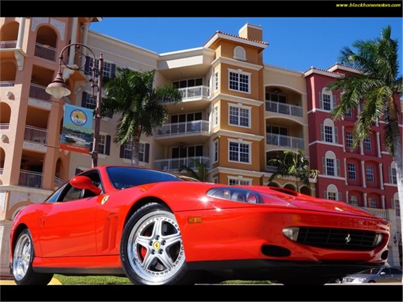 2001 Ferrari 550 for sale in Naples, Florida 34104