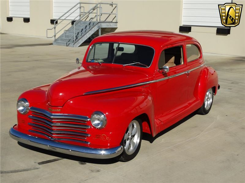1948 plymouth special deluxe for sale gc 14376 gocars. Black Bedroom Furniture Sets. Home Design Ideas