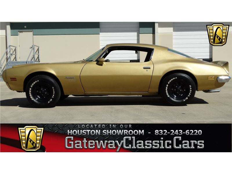 1970 Pontiac Firebird For Sale   GC-14812   GoCars