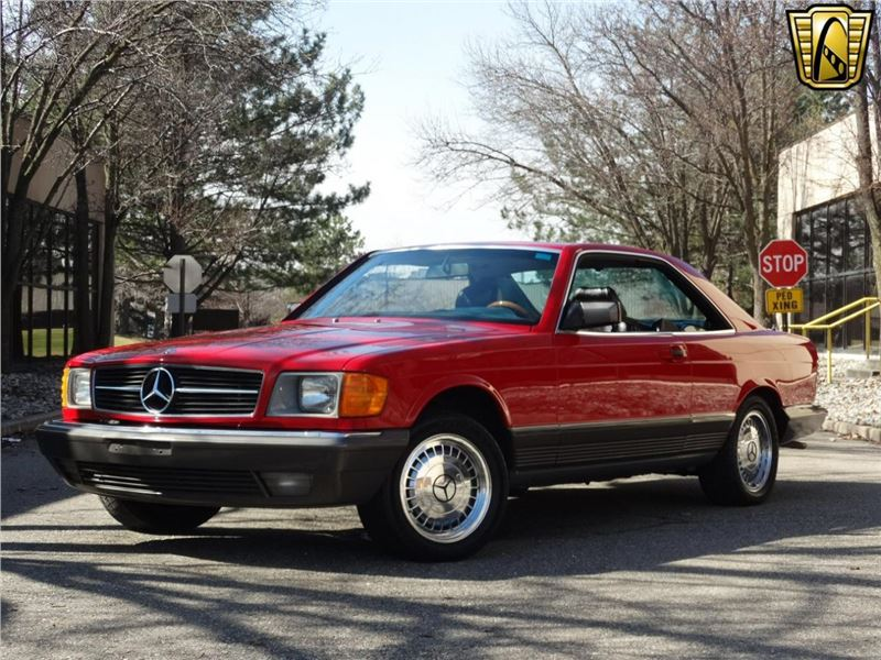 1984 mercedes benz 500 sec for sale gc 14816 gocars. Black Bedroom Furniture Sets. Home Design Ideas