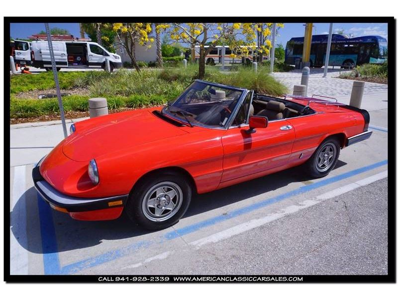 1984 Alfa Romeo Spider for sale in for sale on GoCars