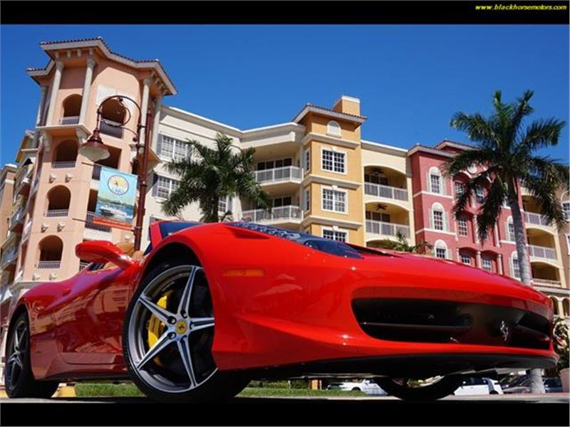 2013 Ferrari 458 for sale in Naples, Florida 34104
