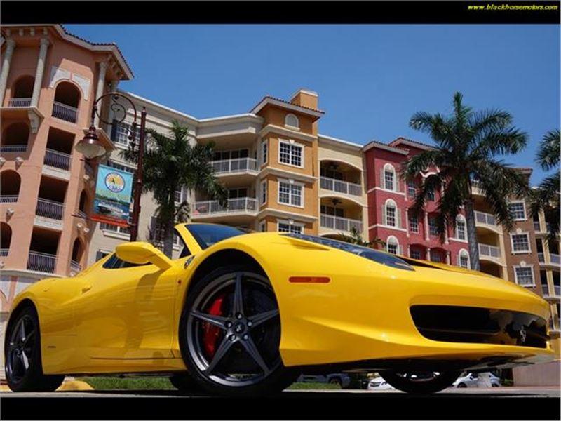 2012 Ferrari 458 for sale in Naples, Florida 34104