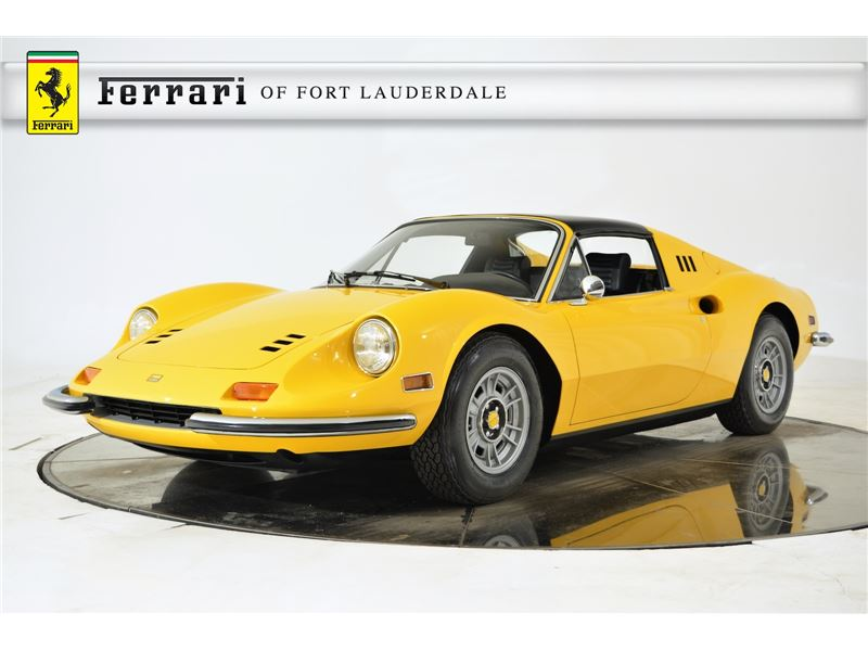1973 ferrari dino 246 gts for sale gc 16248 gocars. Black Bedroom Furniture Sets. Home Design Ideas