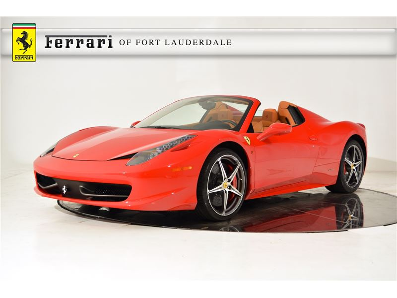 2015 ferrari 458 spider for sale in for sale on gocars. Cars Review. Best American Auto & Cars Review