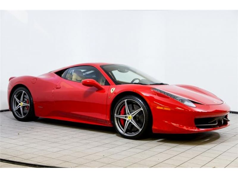 2013 ferrari 458 italia for sale in for sale on gocars. Cars Review. Best American Auto & Cars Review