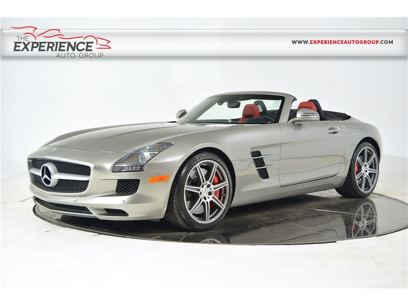 2012 mercedes benz sls amg roadster for sale gc 16836 for Mercedes benz sls amg for sale