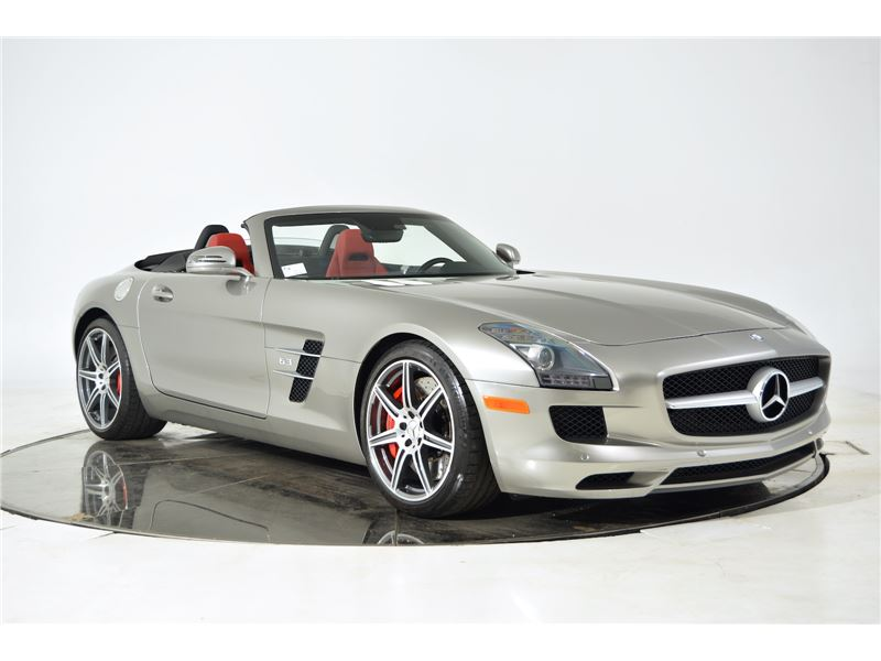 2012 mercedes benz sls amg roadster for sale gc 16836. Black Bedroom Furniture Sets. Home Design Ideas