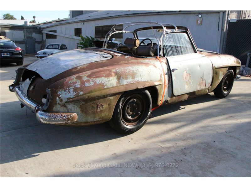 1958 mercedes benz 190sl for sale gc 16209 gocars for Mercedes benz 190 sl for sale