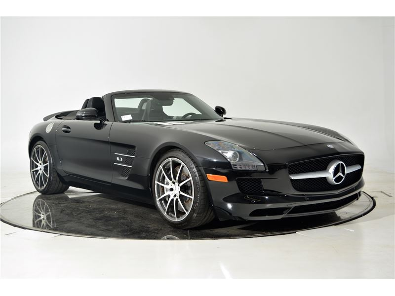 2012 mercedes benz sls amg roadster for sale gc 17922 for Mercedes benz sls amg for sale